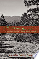 Audrey of the Mountains Book