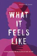 What It Feels Like Pdf/ePub eBook