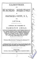 Gazetteer And Business Directory Of Chautauqua County N Y For 1873 4