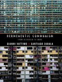 Hermeneutic Communism Pdf/ePub eBook
