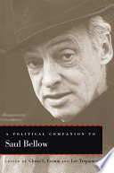 A Political Companion to Saul Bellow