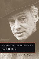 A Political Companion to Saul Bellow Book