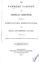 The Farmer S Cabinet And American Herd Book