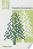 Introduction to Forestry Economics Book