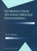 Introduction to Food Process Engineering - Seite ii