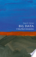Big Data  a Very Short Introduction Book