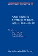 Pdf Cross-linguistic Semantics of Tense, Aspect, and Modality Telecharger