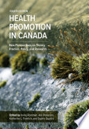 Health Promotion In Canada Book PDF