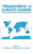 Fingerprints    of Climate Change