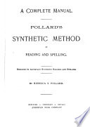 Pollard s Synthetic Method of Reading and Spelling