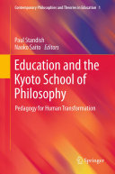 Education and the Kyoto School of Philosophy ebook