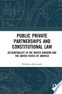 Public Private Partnerships And Constitutional Law Book PDF