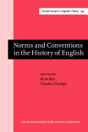 Norms and Conventions in the History of English [Pdf/ePub] eBook