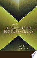 """""""The Shaking of the Foundations"""" by Paul Tillich"""