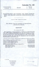 Transportation And Housing And Urban Development And Related Agencies Appropriations Bill 2010