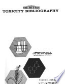 Toxicity Bibliography Book