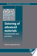 Sintering of Advanced Materials Book