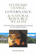 Economic Change  Governance and Natural Resource Wealth Book