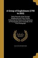 GROUP OF ENGLISHMEN  1795 TO 1