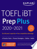 TOEFL iBT Prep Plus 2020 2021