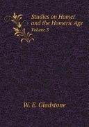 Studies on Homer and the Homeric Age Pdf/ePub eBook