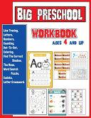 Big Preschool Workbook Ages 4 And Up