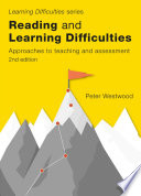 Reading and Learning Difficulties 2nd ed