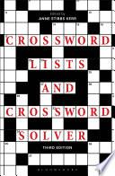 Crossword Lists and Crossword Solver