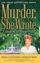 Murder  She Wrote  A Slaying in Savannah
