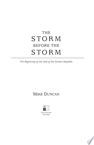 Download The Storm Before the Storm Free Books - Dlebooks.net
