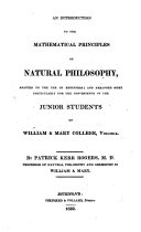 An Introduction to the Mathematical Principles of Natural Philosophy ebook