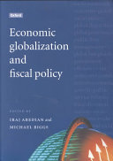 Economic Globalization and Fiscal Policy