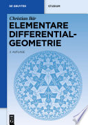 Elementare Differentialgeometrie