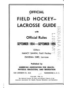 Official Field Hockey lacrosse Guide with Official Rules