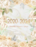 2020 2024 Monthly Planner 5 Year