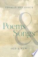Poems   Songs