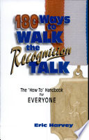 180 Ways to Walk the Recognition Talk