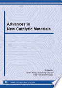 Advances In New Catalytic Materials Book PDF