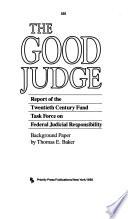 Judicial Independence Book