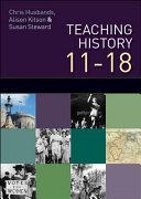 Teaching History 11   18
