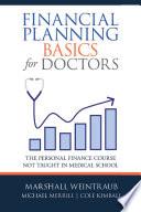 Financial Planning Basics For Doctors PDF