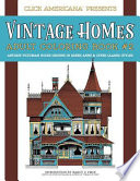Vintage Homes Adult Coloring Book