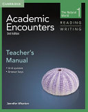 Academic Encounters Level 1 Teacher s Manual Reading and Writing