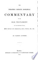 Homiletical commentary on the Book of Nehemiah  by W H  Booth  J H  Goodman and S  Gregory