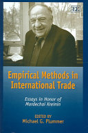 Empirical Methods in International Trade
