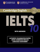 Cover of Cambridge IELTS 10 Student's Book with Answers