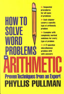 How to Solve Word Problems in Arithmetic