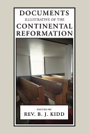 Pdf Documents Illustrative of the Continental Reformation Telecharger