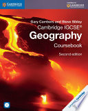 Books - Cambridge IGCSE Geography Coursebook With Cd-Rom | ISBN 9781107458949