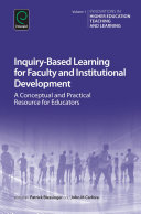 Inquiry Based Learning for Faculty and Institutional Development